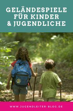 Geländespiele für Kinder und Jugendliche: Raus in den Wald im Ferienlager oder in der Gruppenstunde. Tipps für Pädagogen und Jugendleiter-Pädagogik.