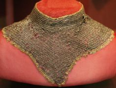 European riveted mail collar, 15th century, Cleveland Museum of Art.