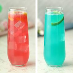 Baby Shower Mocktails In 15 Minutes or Less Celebrate a new life with these simple drinks. They're as easy as switching to GEICO, where you could save or more on car insurance. Party Drinks, Cocktail Drinks, Fun Drinks, Cocktail Recipes, Beverages, Healthy Smoothies, Healthy Drinks, Smoothie Recipes, Halloween Drinks