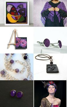 the power of violett  by Sonja Zeltner-Mueller on Etsy--Pinned with TreasuryPin.com