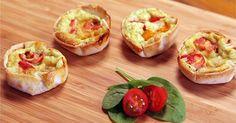 Misturamos a ideia da quiche francesa com a tortilla espanhola e o RESULTATO É PERFEITO! Confira!