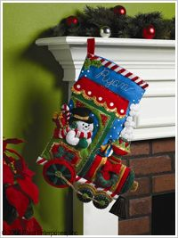 Bucilla ® Seasonal - Felt - Stocking Kits - Candy Express | Plaid Enterprises