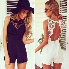 Sexy Women Sleeveless Lace Backless Cocktail Party Bodycon Jumpsuit Romper Pants #itonight #Jumpsuit