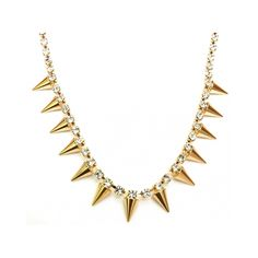Colar Spikes Gold