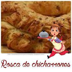 Recetas-Muy variadas-Fáciles-Económicas: Cremona y rosca de chicharrones caseras Chicharrones, Disney Princess, Disney Characters, Food, Bagels, Breads, Homemade, Recipes, Cooking