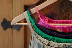 Upcycle old tee shirts to tank tops - interesting ....