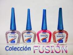 Nuevos tonos Coleccion FUSION. #MASGLO #TONOS #NUEVOS #ESMALTES #COLECCION Beauty Nails, Nail Polish, Drink, Food, Nail Art Tutorials, Fingernail Designs, Beverage, Eten, Drinking
