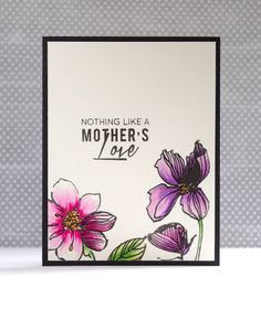 Sooner rather than Later: A Mother's Love, my favorite Watercolor Products, and can you spot the mistake?
