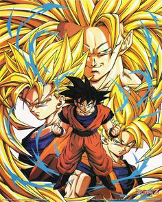 #Goku Super Saiyajin #DBZ Dragon Ball Z