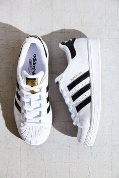 Adidas Superstar Pretas Brancas e Douradas N 38