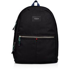 State Kent Backpack ($81) ❤ liked on Polyvore featuring bags, backpacks, black, day pack backpack, knapsack bag, backpack bags, rucksack bags and state backpacks