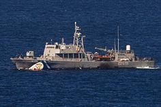 15.10 Une collision s'est produite entre un patrouilleur des gardes-côtes grecs et une embarcation de migrants. Huit d'entre-eux sont portés disparus.Photo: AFP/Dimitar Dilkoff