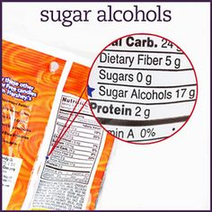 how to count sugar alcohols: total carb grams- 1/2 sugar alcohol grams = carb count.  Sugar alcohols cause a lower rise in blood glucose.