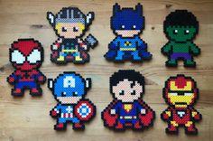 Superheroes come get yours today!! #etsy #collectibles #superhero #funny #marvel #kids #superheroes #animation #spiderman #batman #thor #hulk #captainamerica #ironman #superman #thanos #fun