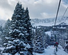 Why are people moving to Bozeman, Montana? Reason #9: World Class Skiing #bridgerbowl #bozeman #montana
