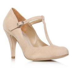 Bridesmaid shoes- nude