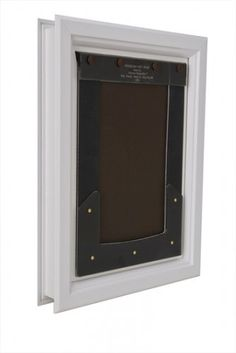 Dog Mate Electromagnetic Small Dog/Large Cat Flap Door   259W | Cas, Click!  And Supplies