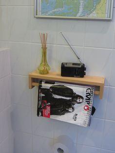 Gewürzregal IKEA spice rack Bekväm, Badezimmer #2, ToilettenEntertainment: Regal invers anbringen (hinten die Halterungen umschrauben!) ikea hack