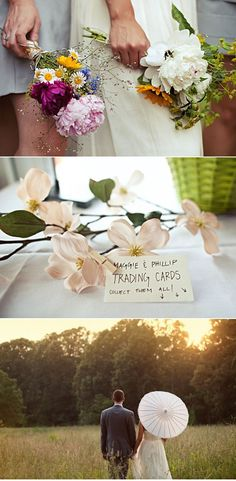 As delicious as sweet tea on a hot July day is this North Carolina wedding and itsdelightful array of summer festivities. We are talking bocce ball, farmer's market flowers, the feeling of grass in between your toes and lots and lots of dancing under the glow of string lights. This North Carolina wedding captured byJenna Trapasso is indeed the poster child for perfect summer wedding. See every last lovely detail here!