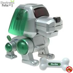 I was obsessed with this robot dog!