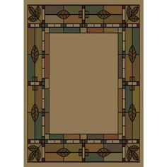 Shaw Living Morrison Natural 7 ft. 10 in. x 7 ft. 10 in. Area Rug-3U16960100 at The Home Depot