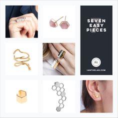 From IAMTHELAB.com 7 Easy Pieces: Fresh Handmade Jewelry by Shahla Karimi