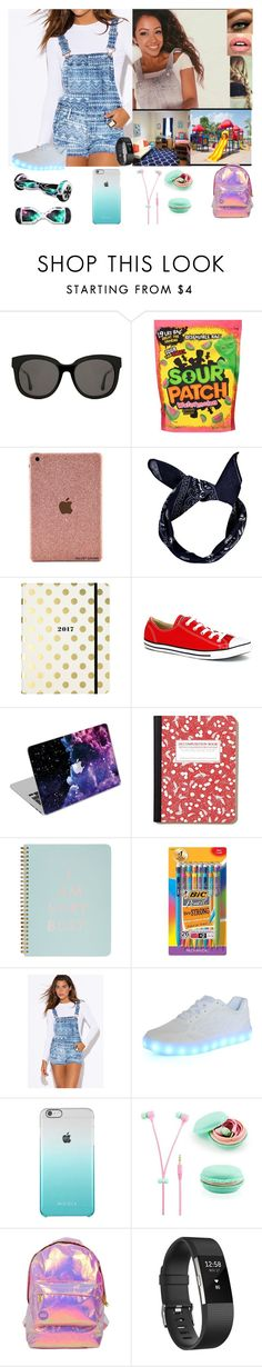 """""""Park. -Lizza (RTD)"""" by the-walking-dead-and-wwe-lover ❤ liked on Polyvore featuring Gentle Monster, Boohoo, Kate Spade, Converse, ban.do, BIC, Samsung, Miss Selfridge and Fitbit"""
