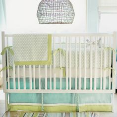 Gorgeous blue nursery decor!