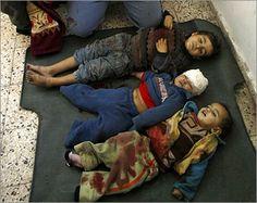 Al-Zaytouna Centre - Pictures of Killed Palestinian Children of the Israeli Attack on Gaza