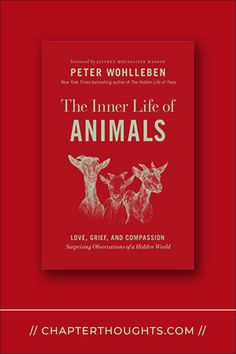 The Inner Life of Animals // Peter Wohlleben Behavior, Thoughts, Natural, Book, Animals, Life, Behance, Animales, Animaux