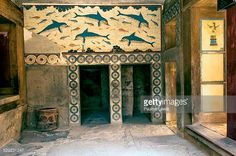 Dolphin Fresco Stock Photos and Pictures | Getty Images