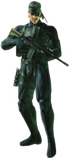Solid Snake..