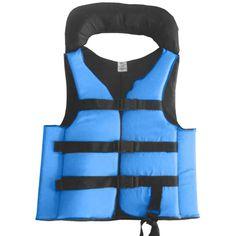 a1e830467 Colete Salva Vidas Auxiliar Flutuação Pesca Advance Azul 60kg