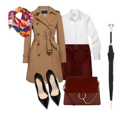 """""""Untitled #160"""" by konstans30 on Polyvore featuring prAna, Chloé, J.Crew, Taisir Gibreel and Pasotti Ombrelli"""
