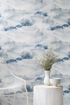 Emma Hayes MM Collection - Cloud Sky Wallpaper