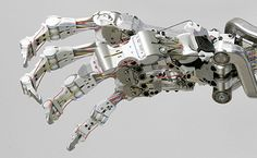 Really gives you pause to think how difficult it is to make a robotic hand that works the same as a human's!