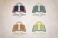 Church Logo Templates A strong and versatile logo for your church or ministry.Illustrator and .EASY by Lucion Creative Business Brochure, Business Card Logo, Lotus Logo, Church Logo, Creative Sketches, Logo Templates, Design Templates, Modern Logo, Pencil Illustration