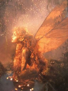 Mythic Dragon Lotus Goddess China Japan magic fantasy art print Brandy Woods
