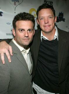 Matthew Lillard and John J. Hermansen at event of What Love Is (2007)