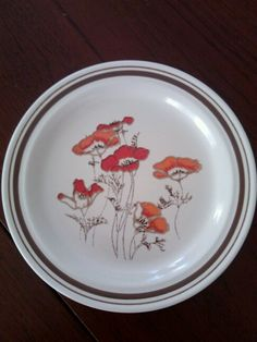 Royal Doulton Fieldflower plate. 1976
