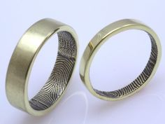 another take on the fingerprint bands!! it'd be neat if they were magnetic