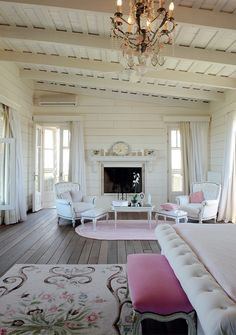 33 Bedroom Fireplace Design Ideas Are you thinking of having a fireplace in bedroom? Then check out these unique bedroom fireplace design ideas and get the inspiration you need right now! Shabby Chic Cottage, Shabby Chic Homes, Shabby Chic Decor, Rustic Decor, Coastal Cottage, Rustic Wood, Barn Wood, Bedroom Fireplace, Fireplace Design