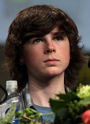Chandler Riggs at Comic-Con ♥♥♥♥♥♥