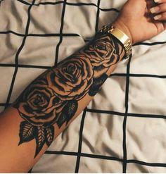 Flower - half -  sleeve