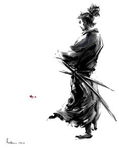 this is too awesome warrior samurai Japanese Culture, Japanese Art, Samourai Tattoo, Ronin Samurai, Samurai Artwork, Samurai Drawing, Miyamoto Musashi, Art Japonais, Kendo
