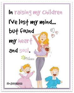 That's motherhood for ya! Gotta love it. <3