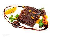 Browny on a white plate #daleholman #daleholmanmaine