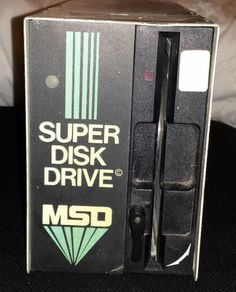 MSD Super Disk Drive for The Commodore 64