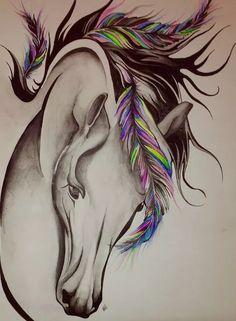 Pferdetattoo Mehr Source by yldbrk Horse Drawings, Animal Drawings, Art Drawings, Horse Head, Horse Art, Body Art Tattoos, Tatoos, Tattoo Ink, Tattoos Skull