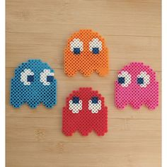 PacMan perler beads by mygirlmontreal